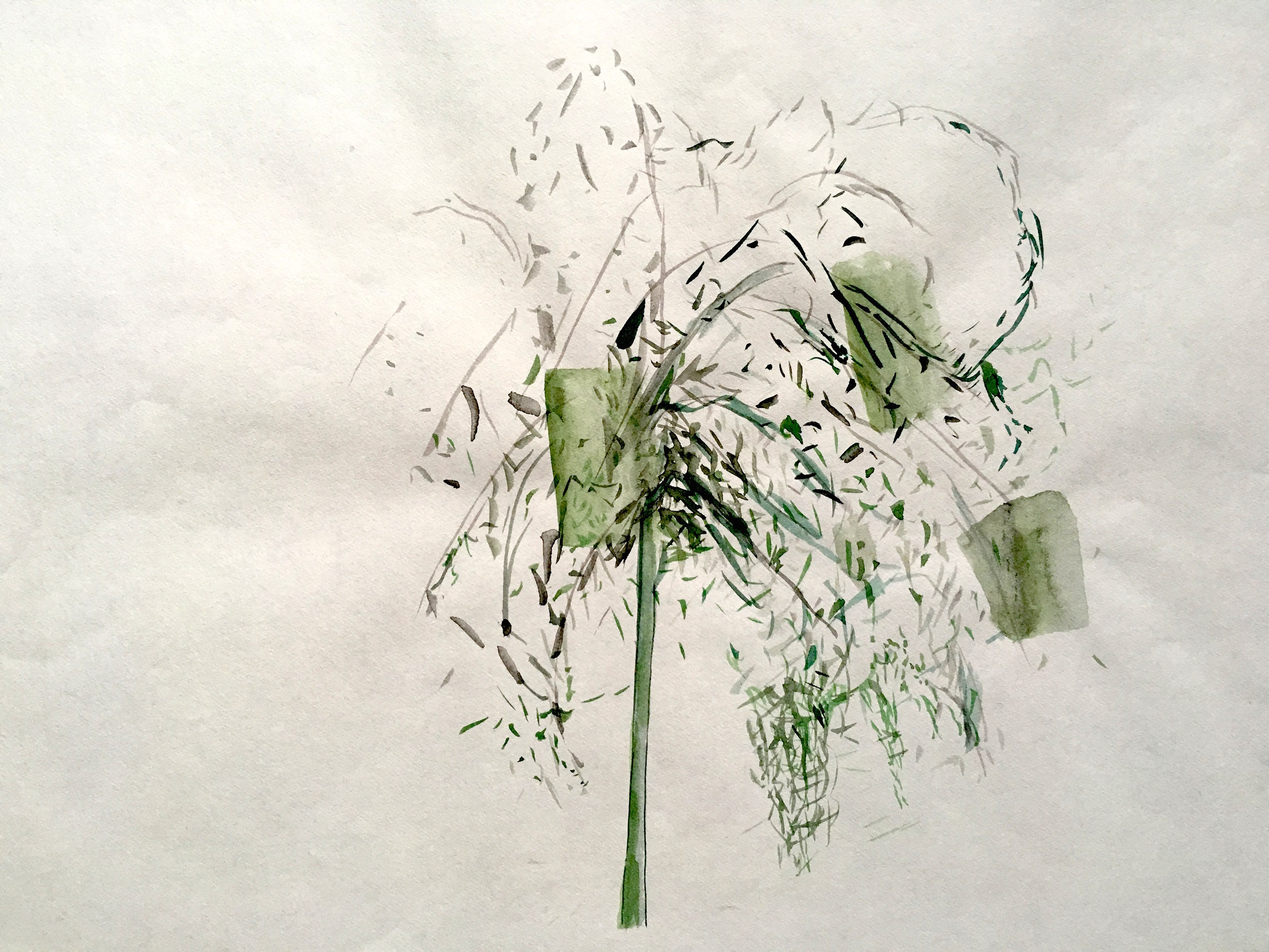 Untitled, Rosilene Ludovico, Mixed media on paper, no Year, Schuebbe Inc.JPG