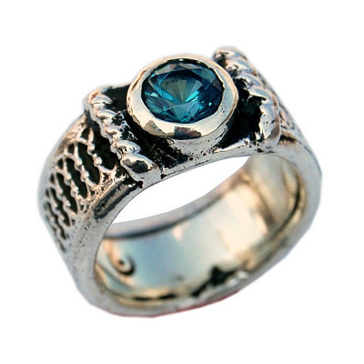 Eternal Band with Stone Ring