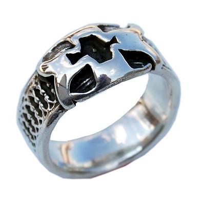 Crusader Cross Eternal Band Ring