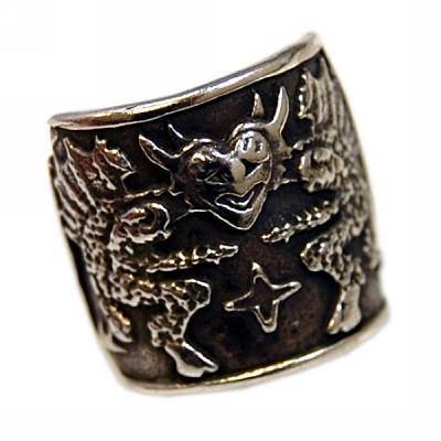 Double Devil Ring