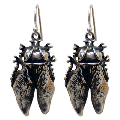 Horse Fly Earrings