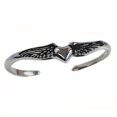 Large Flying Heart Bangle