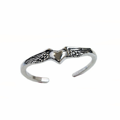 Small Flying Heart Bangle