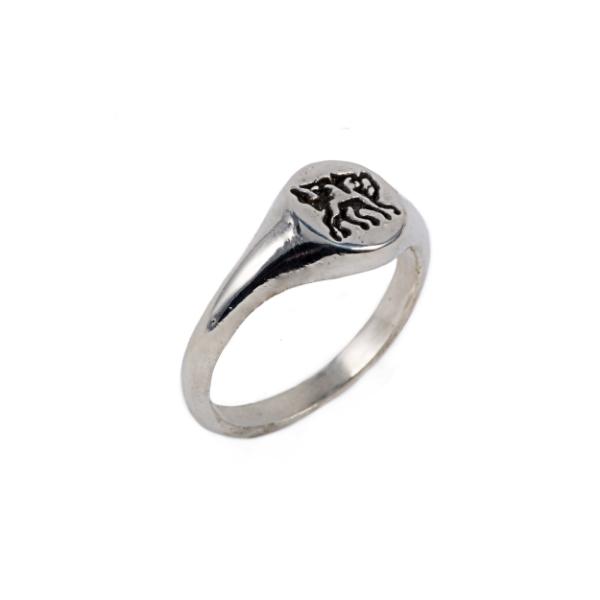 Welsh Dragon Signet Ring