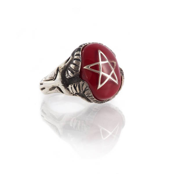 Devil Heart Ring - Ekawa Red