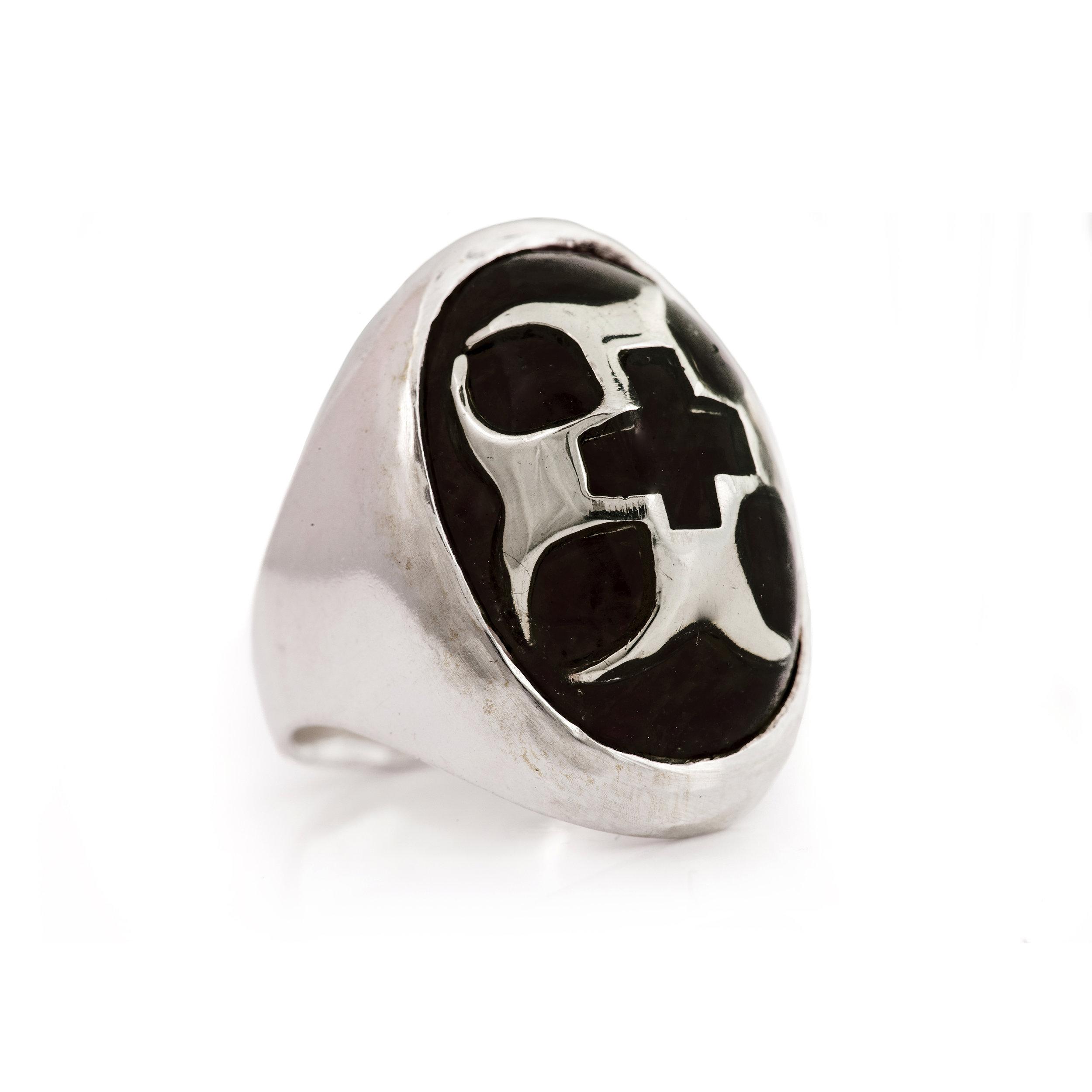 Crusader Ring - 黑瑪瑙