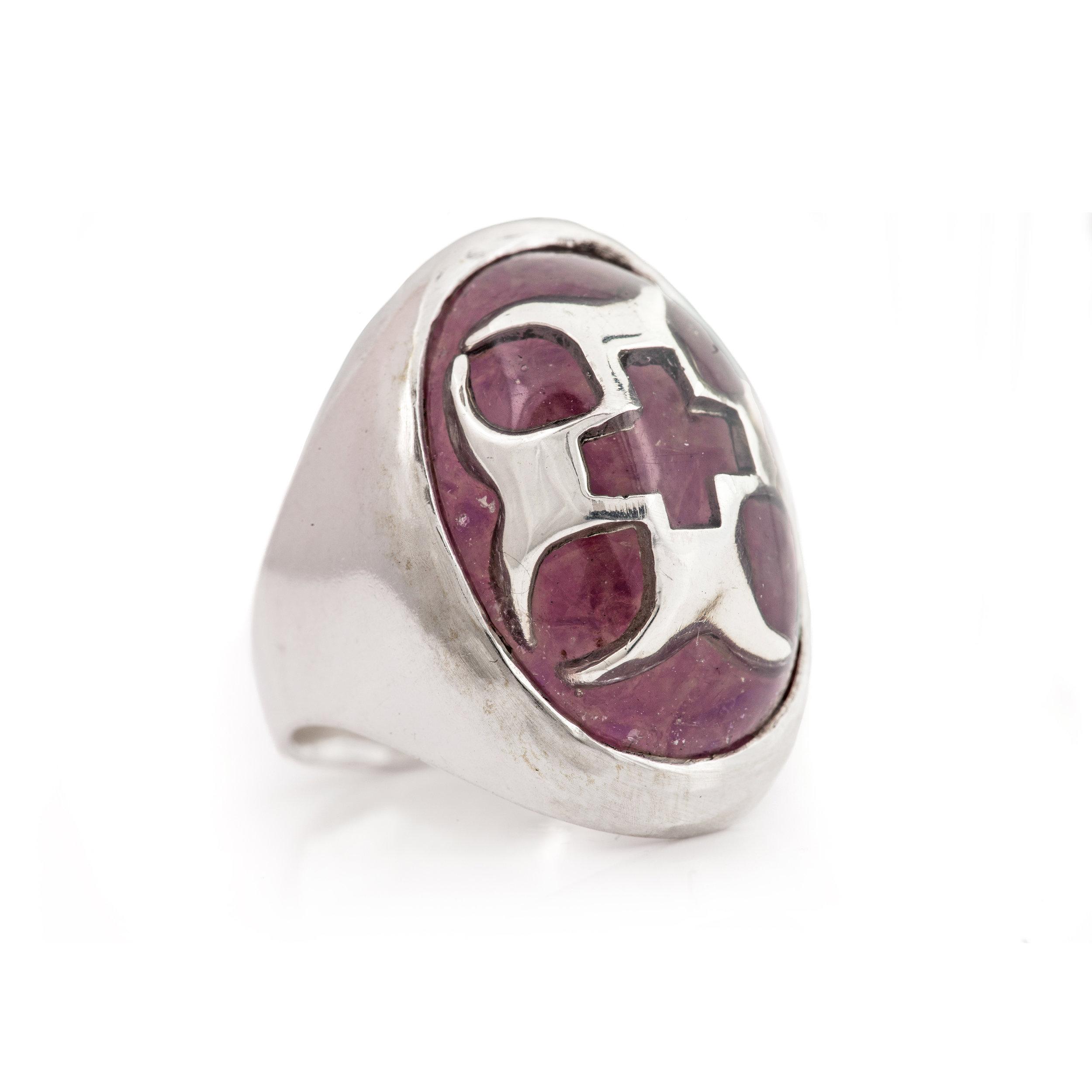 Crusader Ring - 紫水晶