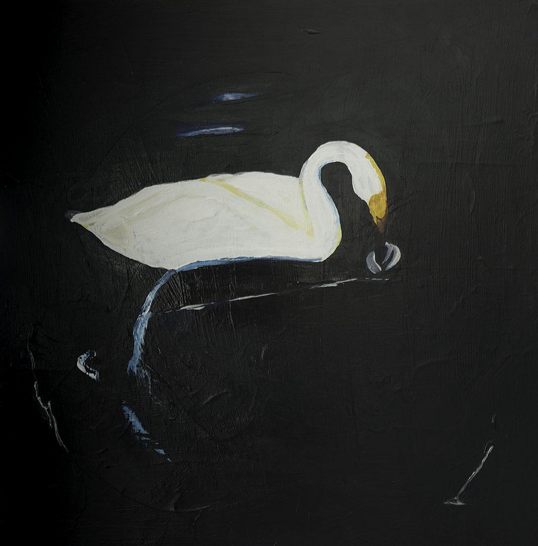 Searching (acrylic)