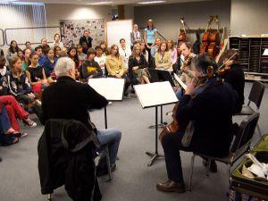Auryn String Quartet   West Shore Jr. Sr. High School