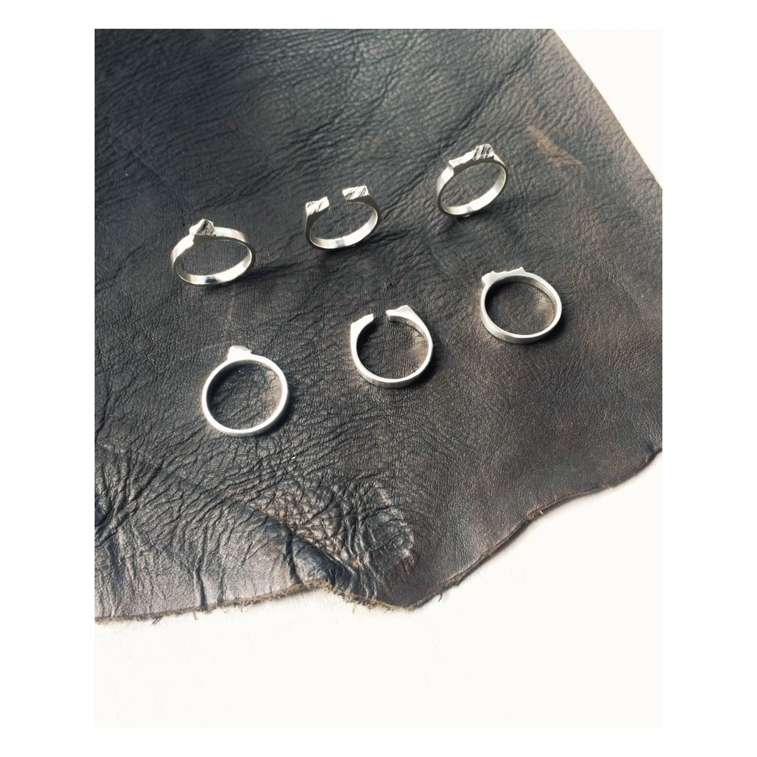 Slab rings. A revamp of the Rock rings.
