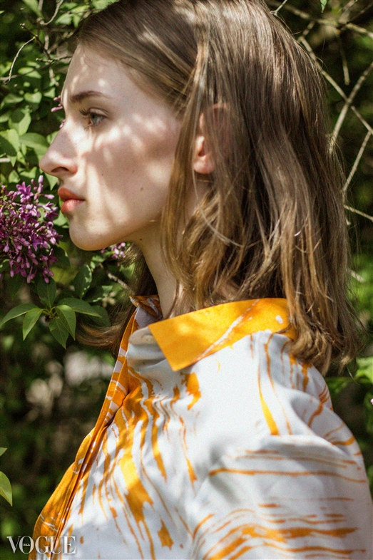 Lilacs and Oranges for Vogue.it