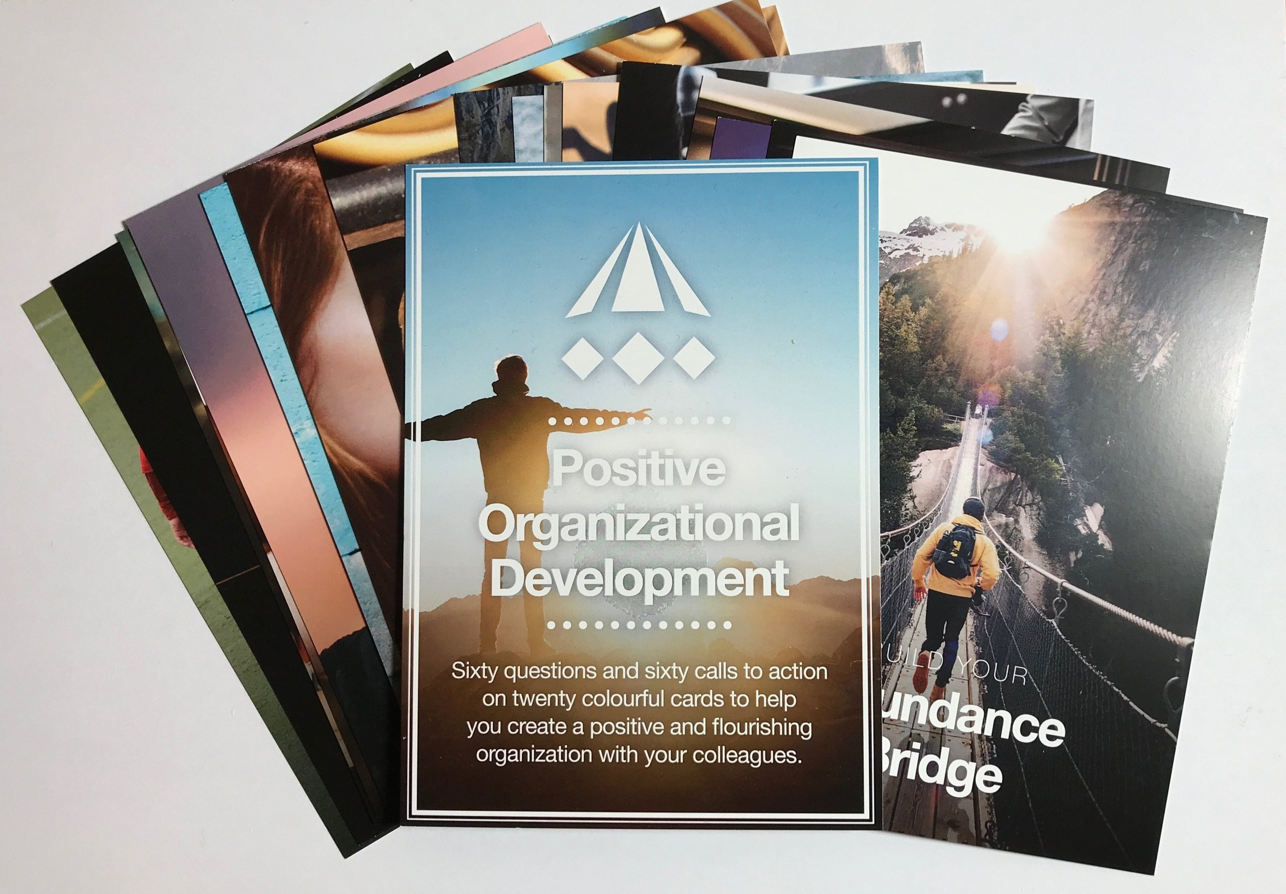Positive Organisational Development Cards - Our Positive Organizational Development Cards offer an engaging and playful way of introducing exciting positive development ideas to individuals, teams and organizations.
