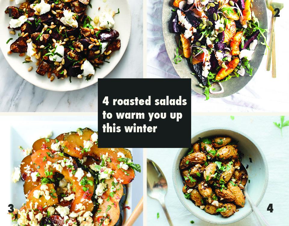 4 roasted salads to warm you up this winter via Print Em Shop