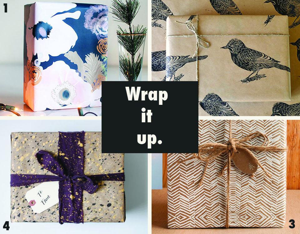 Indie Gift Wrap via Print (Em) Shop