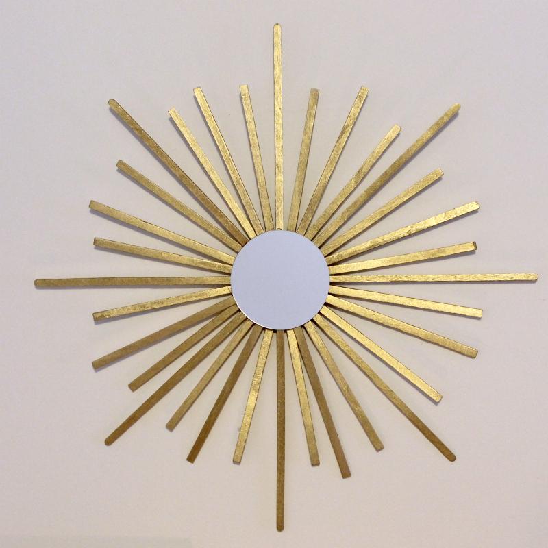 Mini Sunburst Mirror via Print (Em) Shop