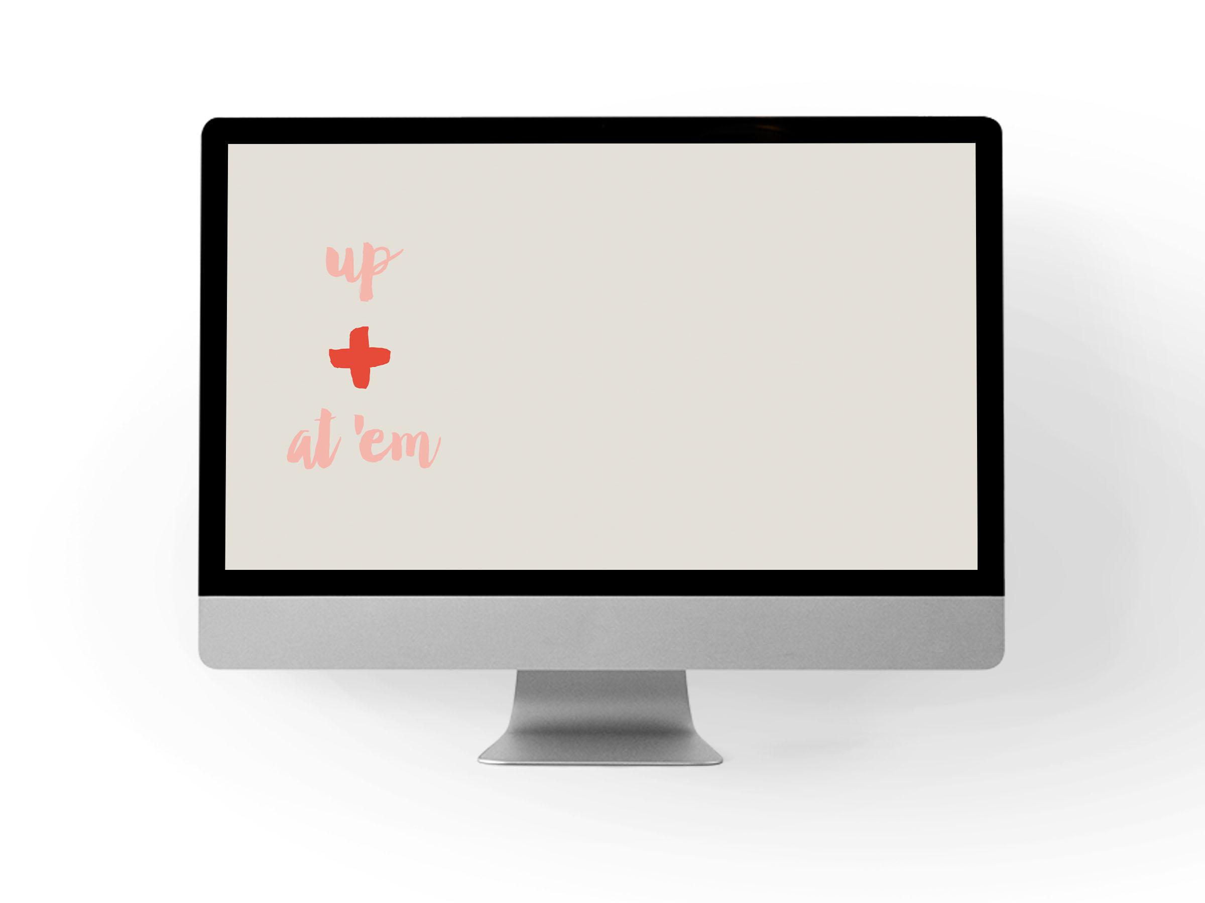 Free desktop background via Print (Em) Shop
