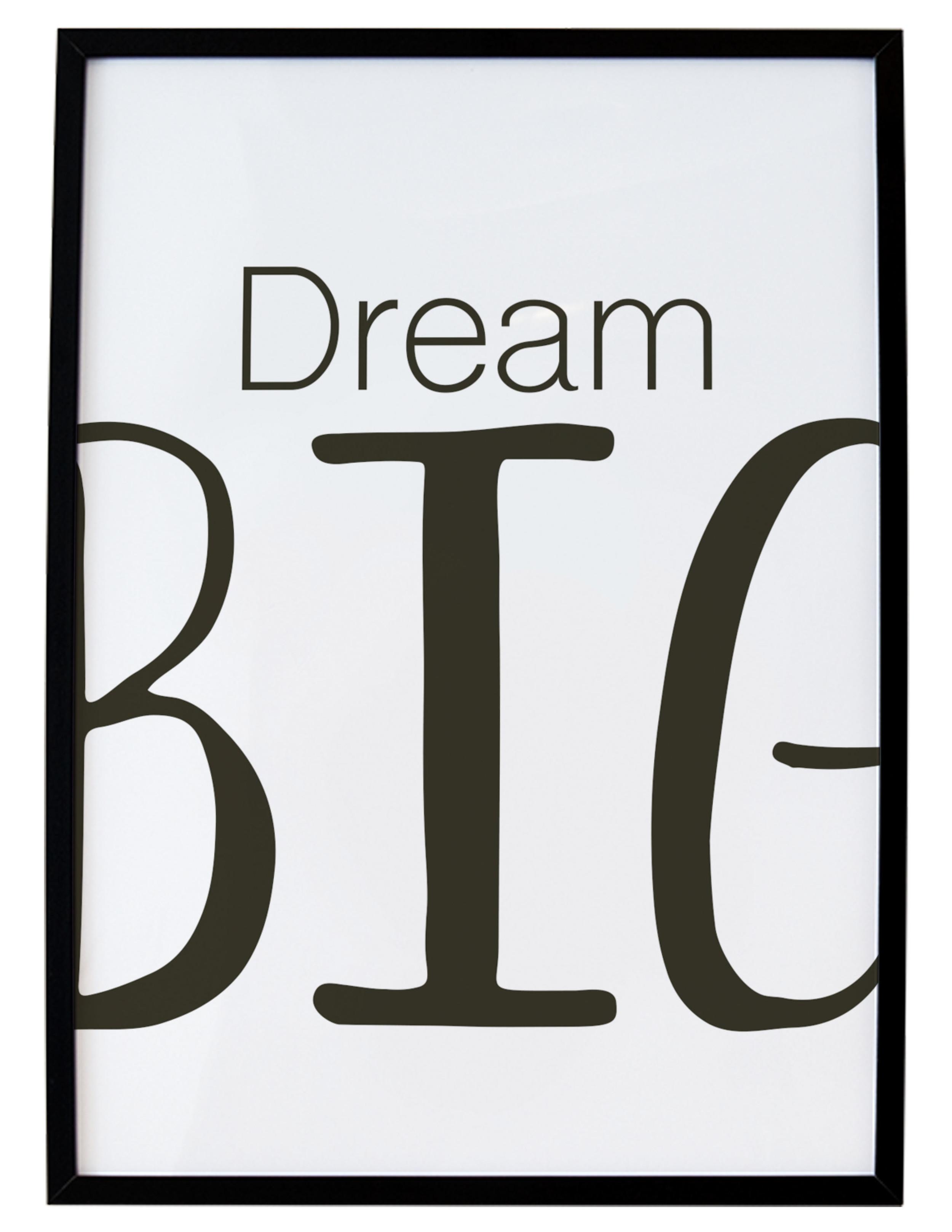 Dream Big Free Printable // Print (Em) Shop