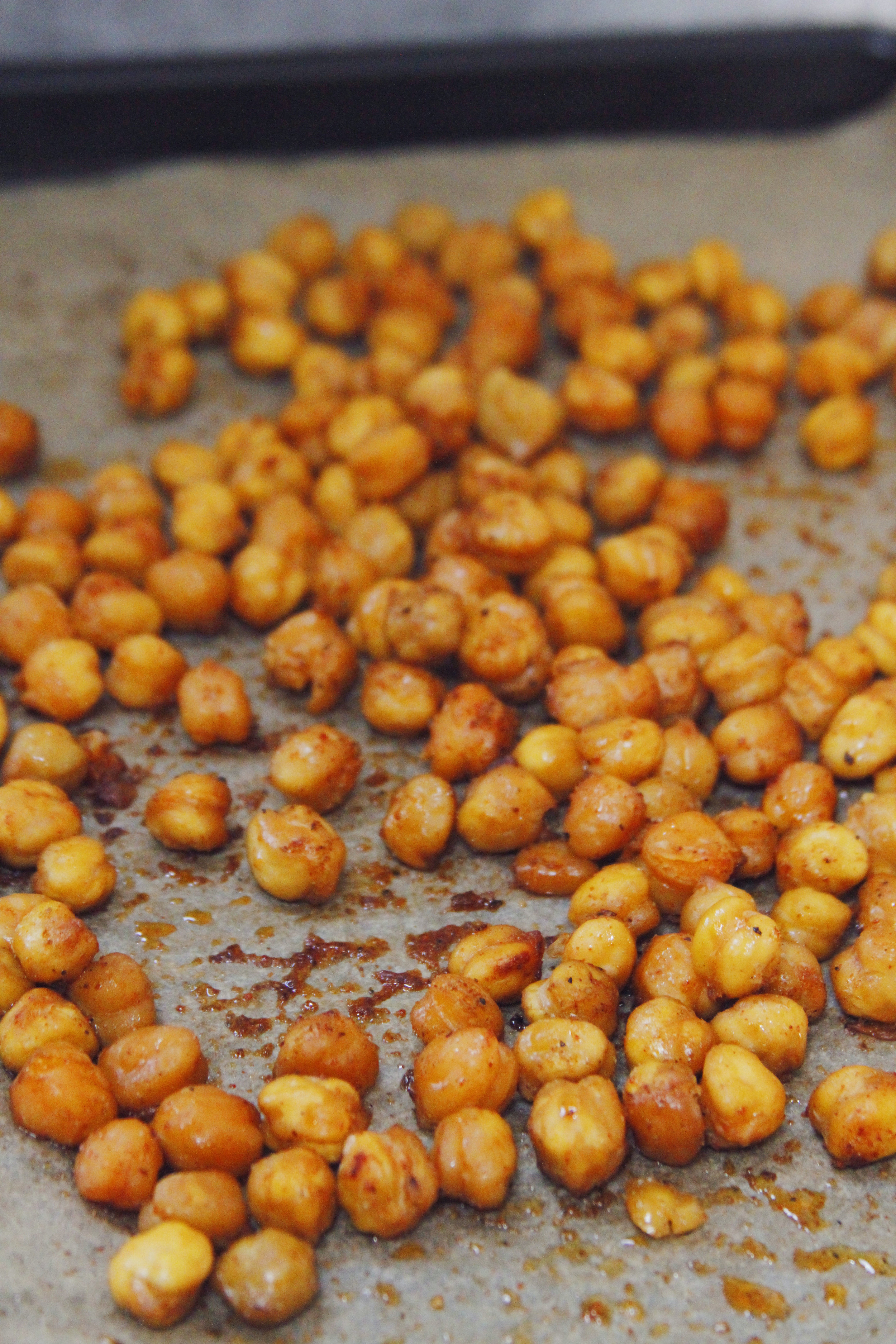 Spicy baked chickpeas // Print (Em) Shop