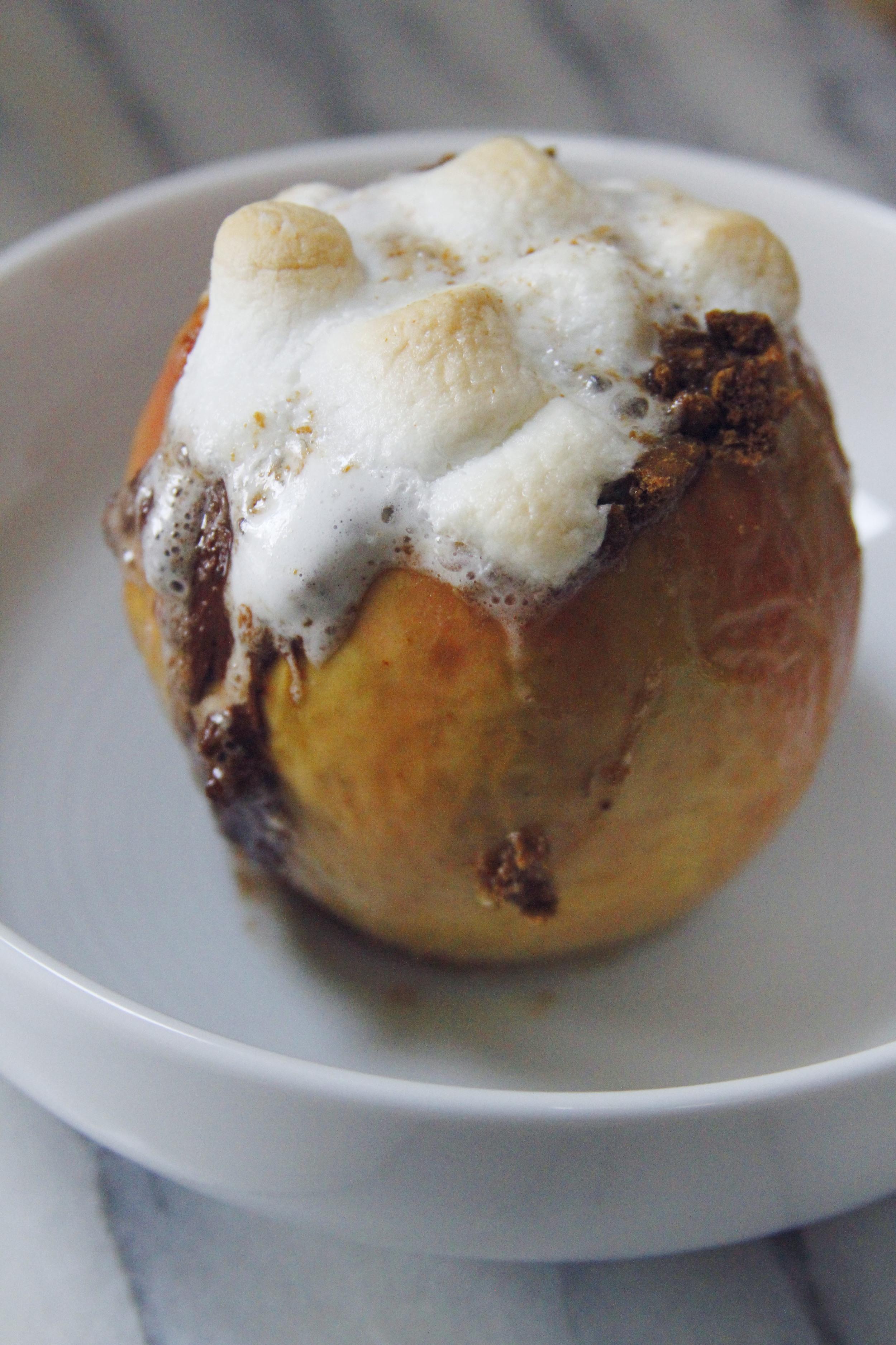 S'mores baked apples // print (em) shop