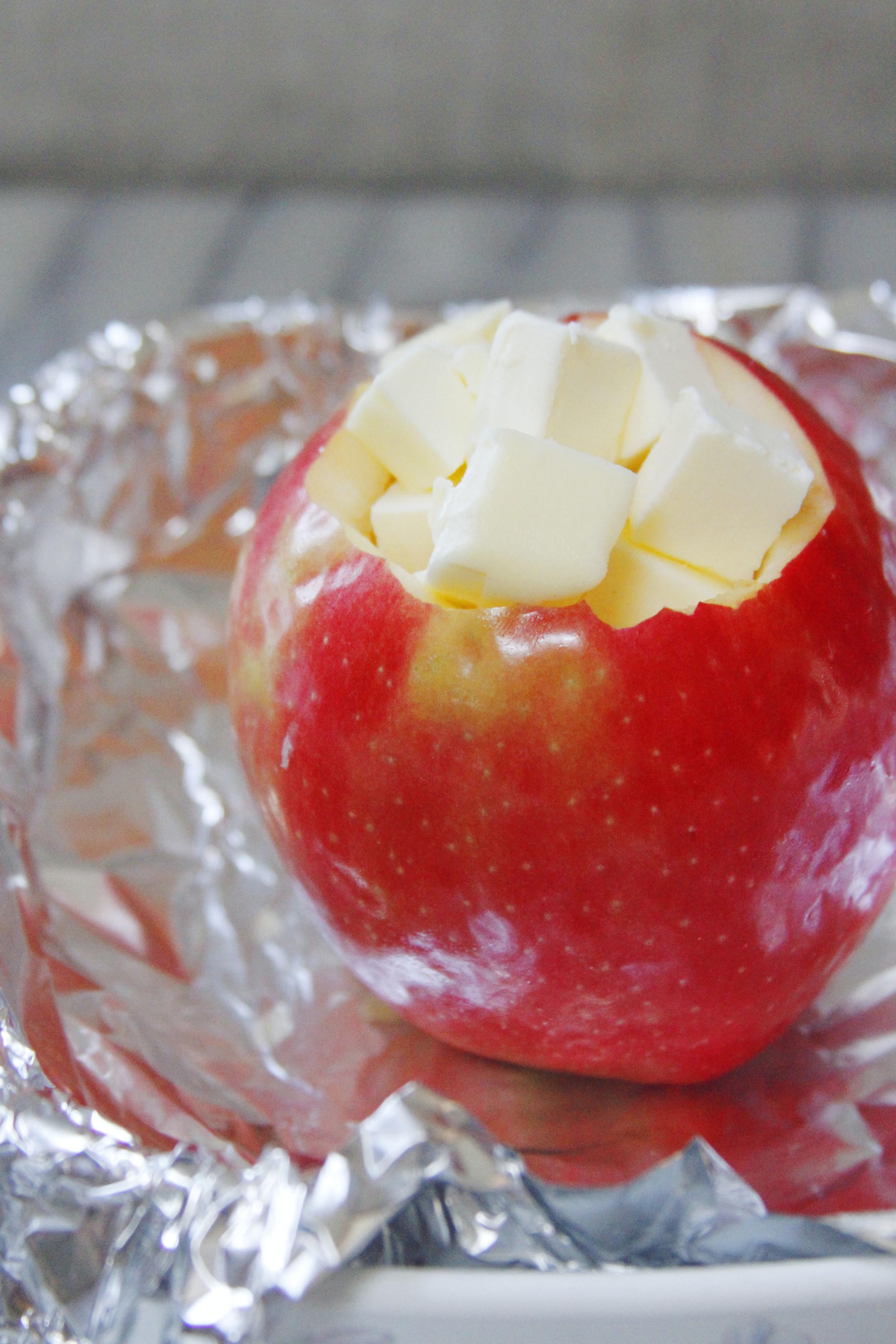 S'mores baked apples 3 // print (em) shop