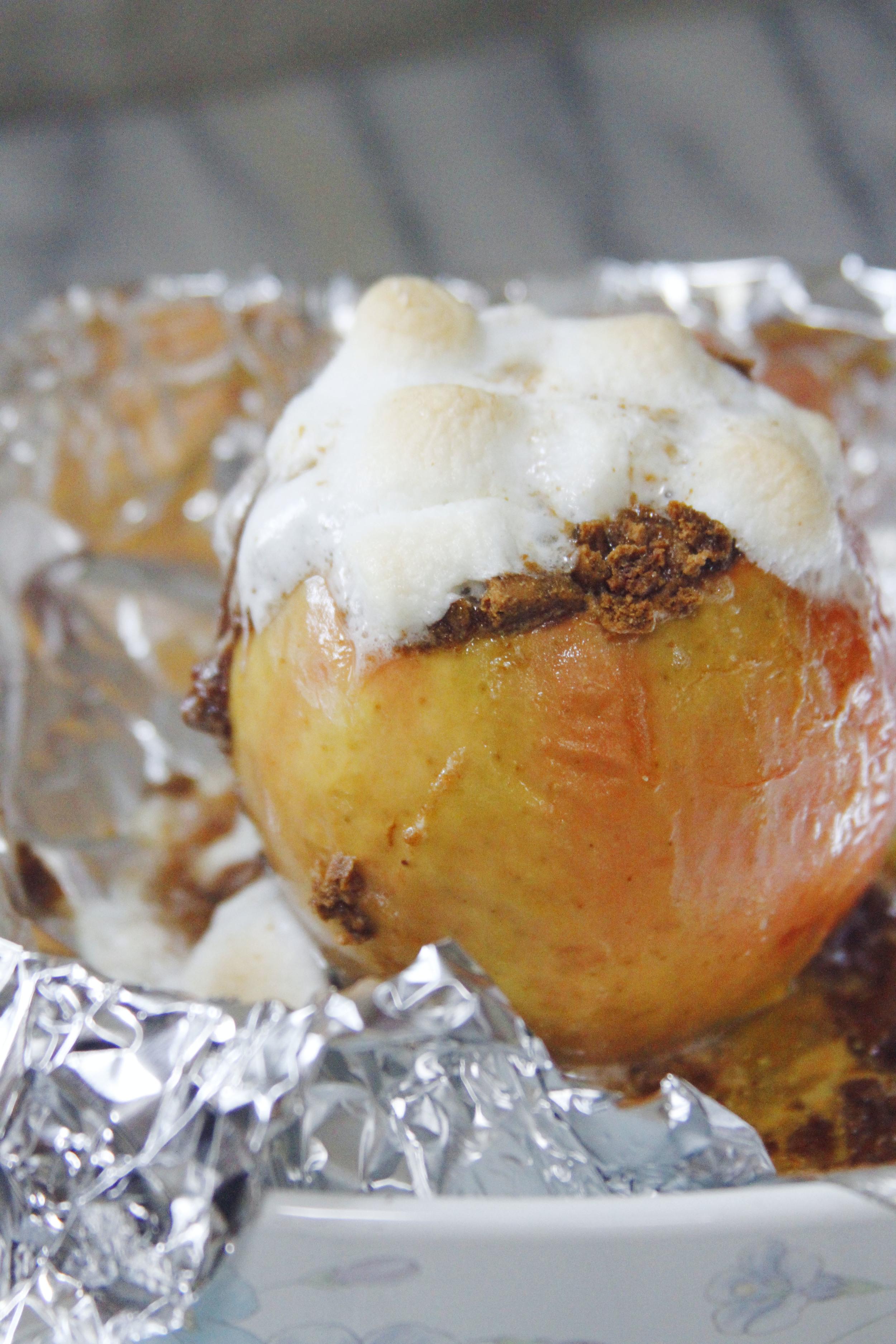 S'mores baked apples 5 // print (em) shop