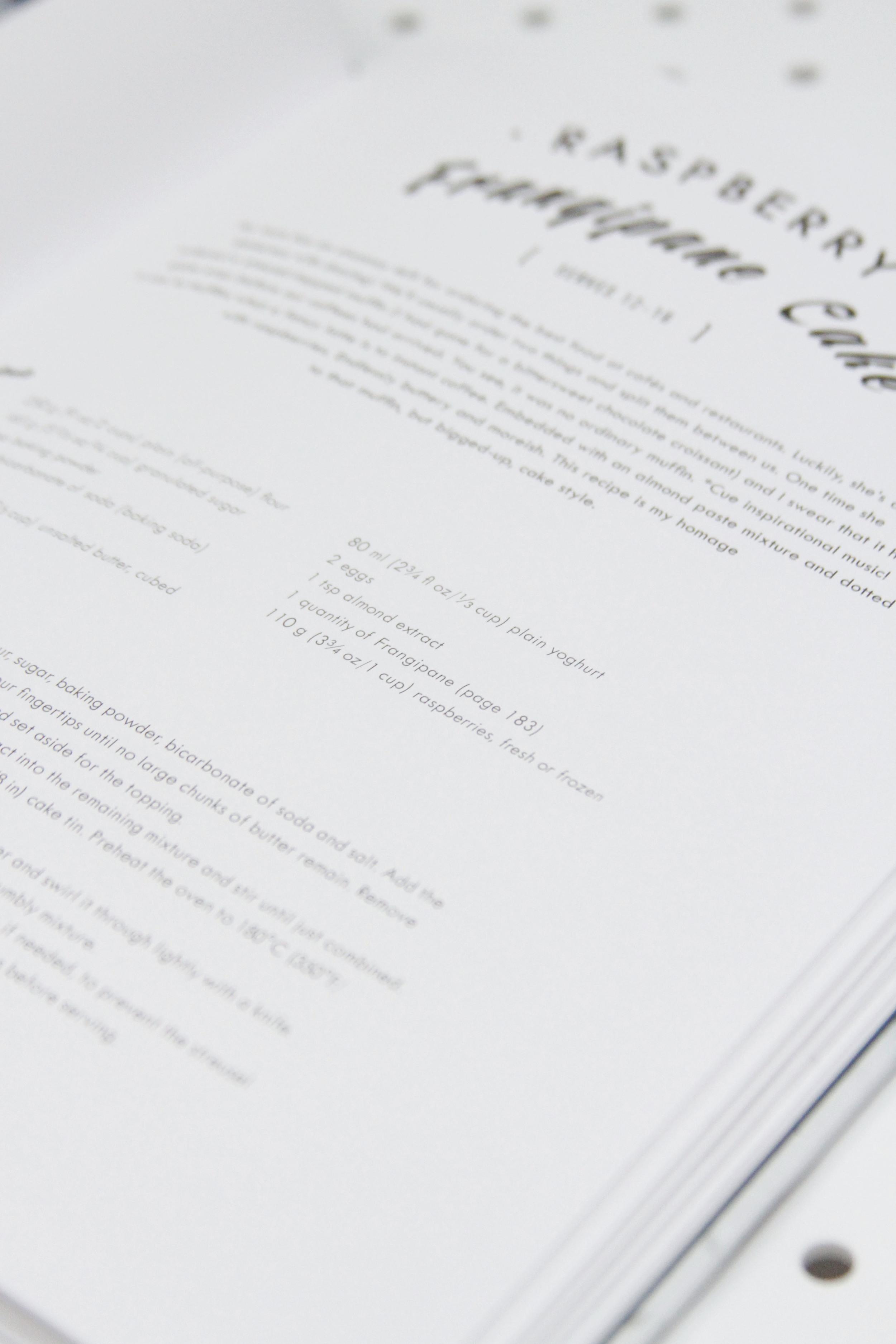 top with cinnamon cookbook review // print (em) shop