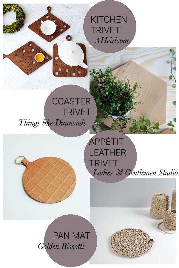 trivet round up // print (em) shop