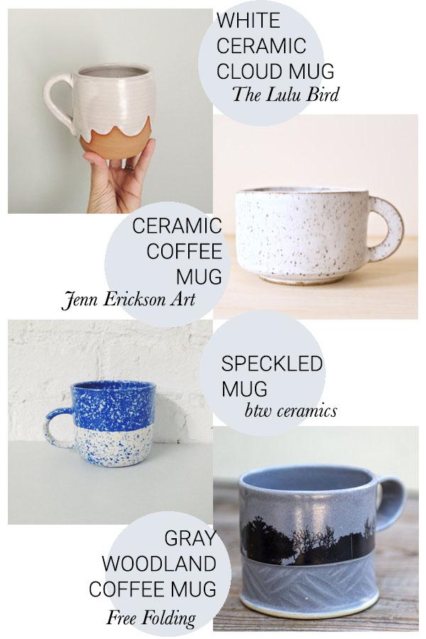 mug round up // a little gathering