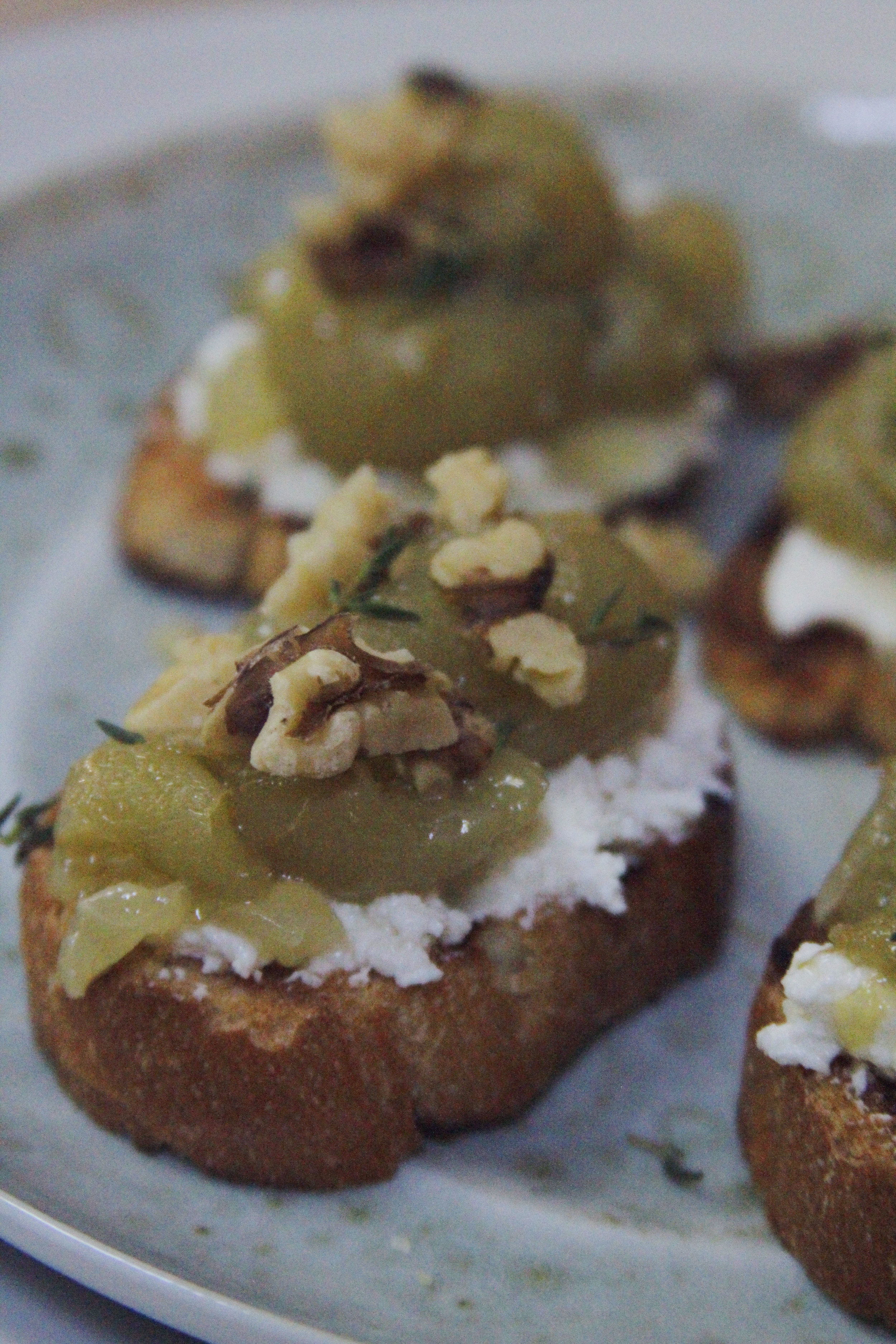 roasted grape toast