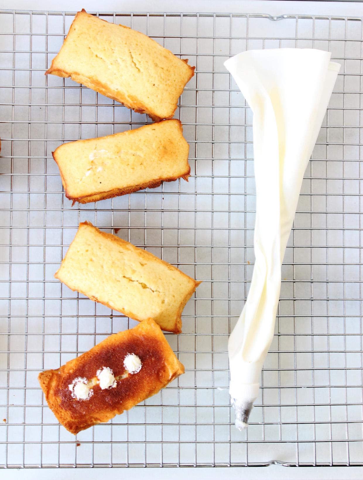 Homemade Twinkies
