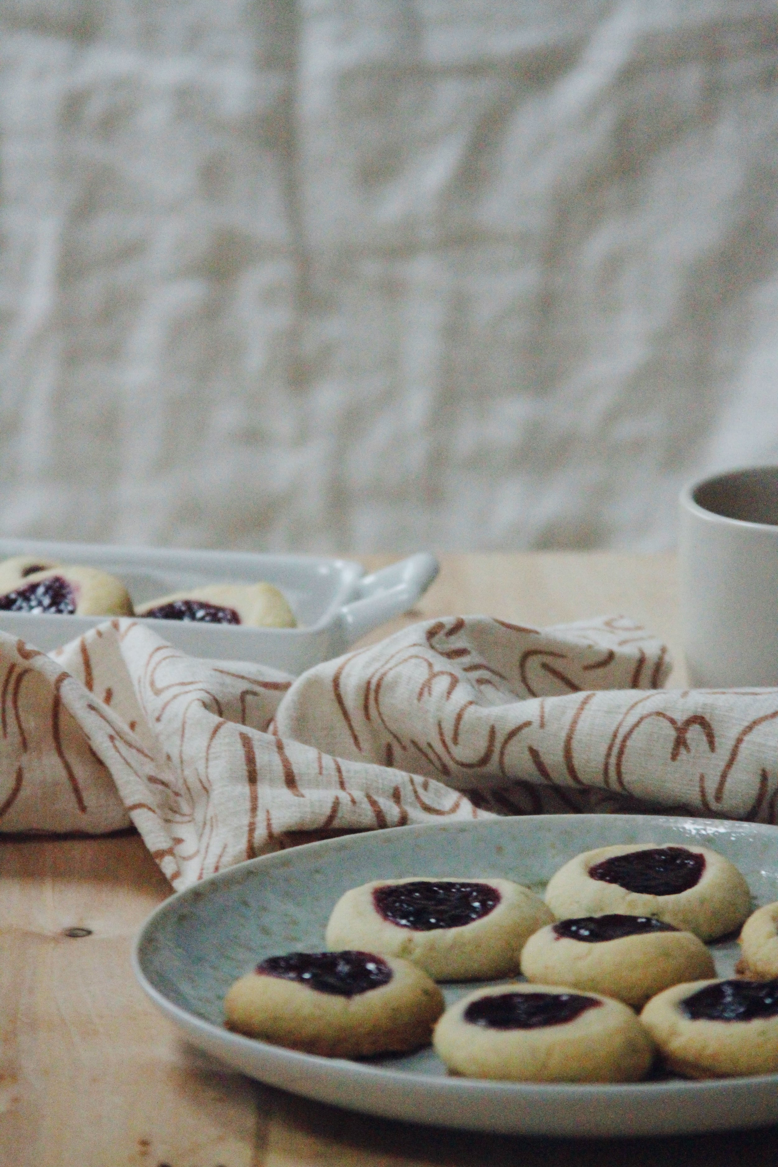 jammy cookies // a little gathering