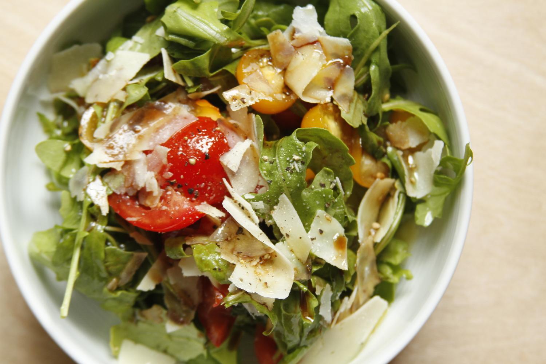 arugula salad // a little gathering