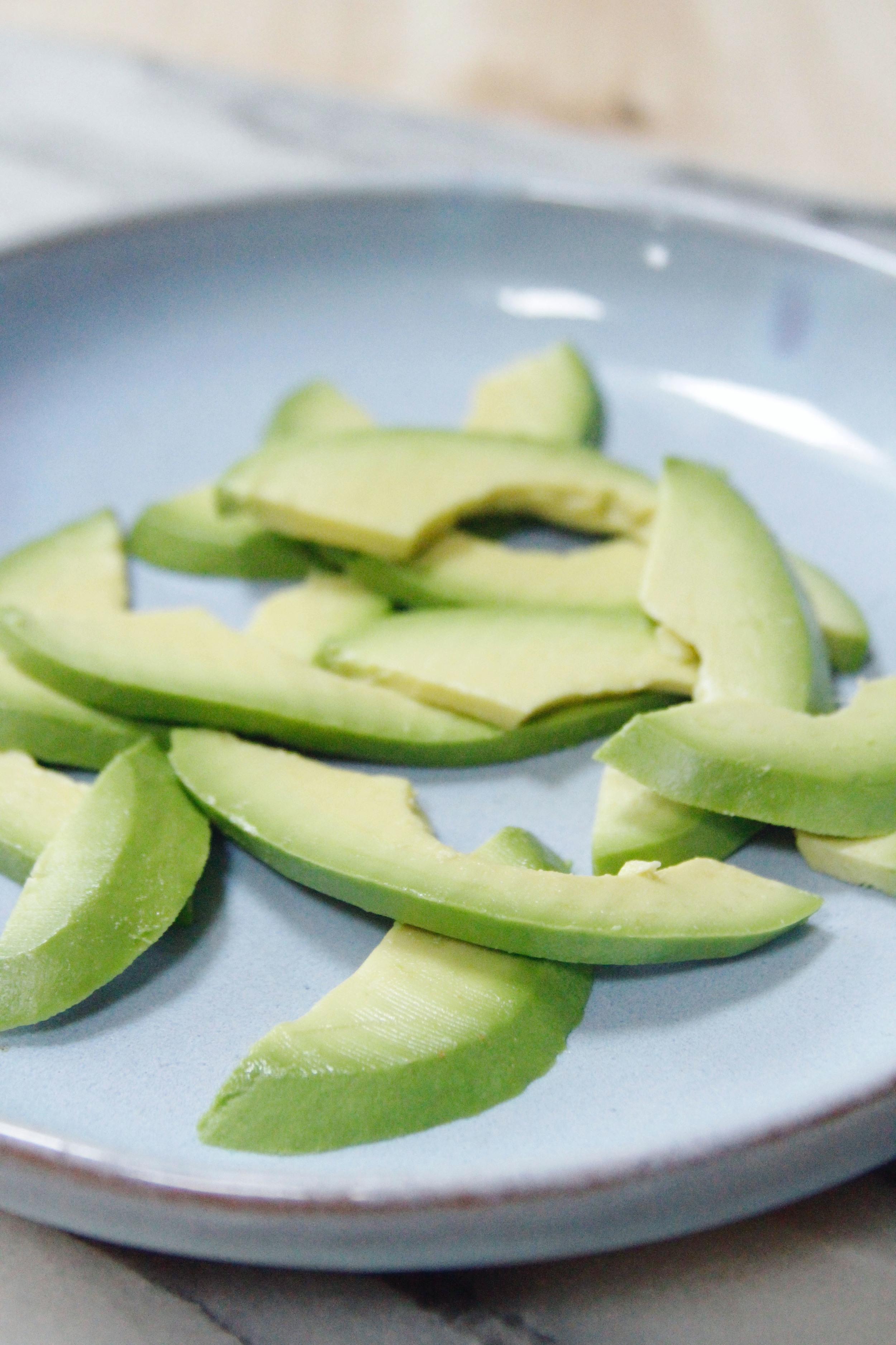 avocado + blood orange salad