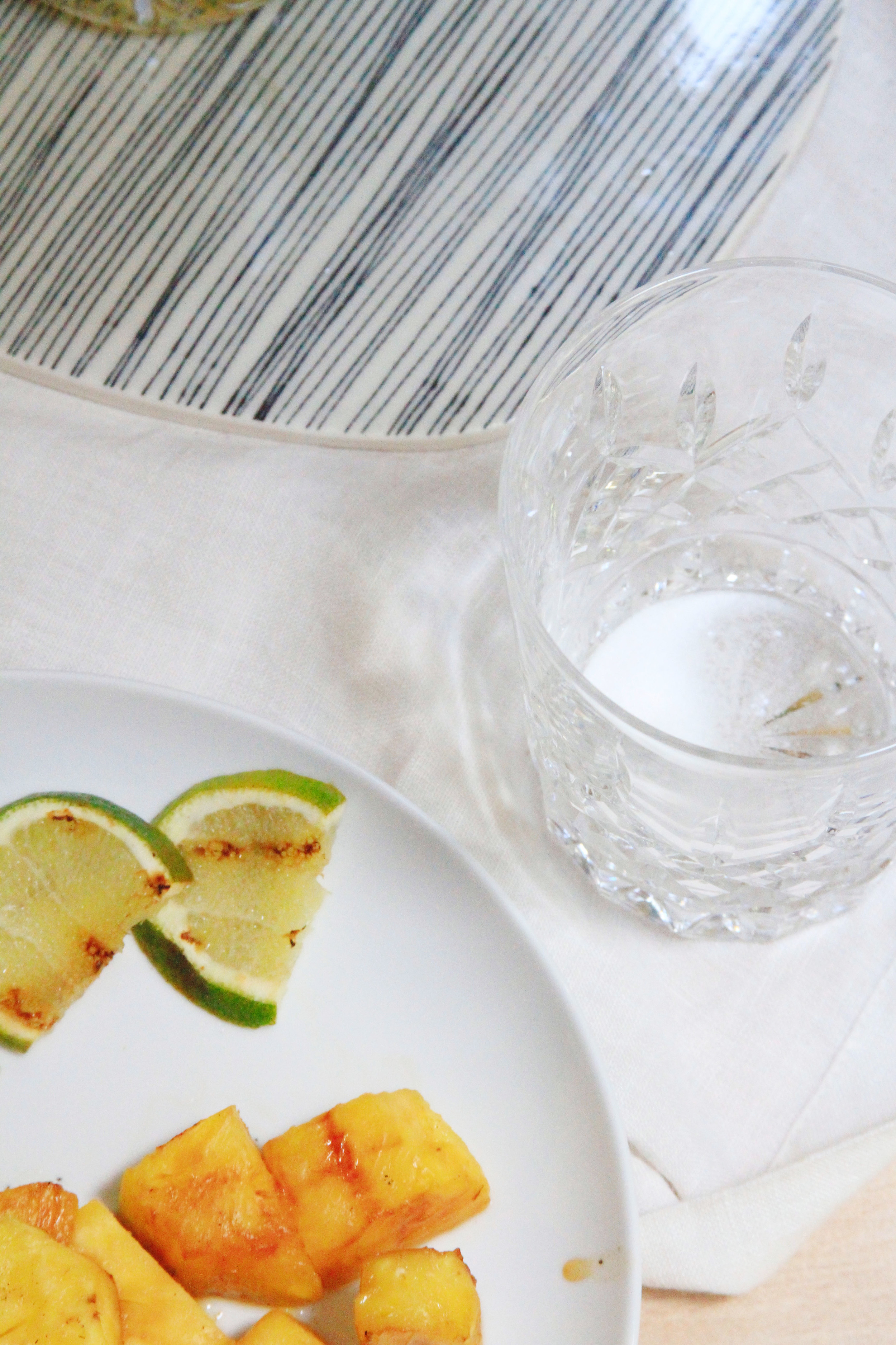 grilled pineapple mojito