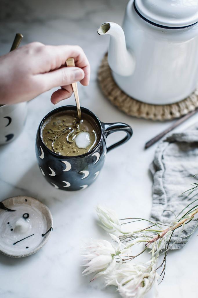Golden milk cocoa
