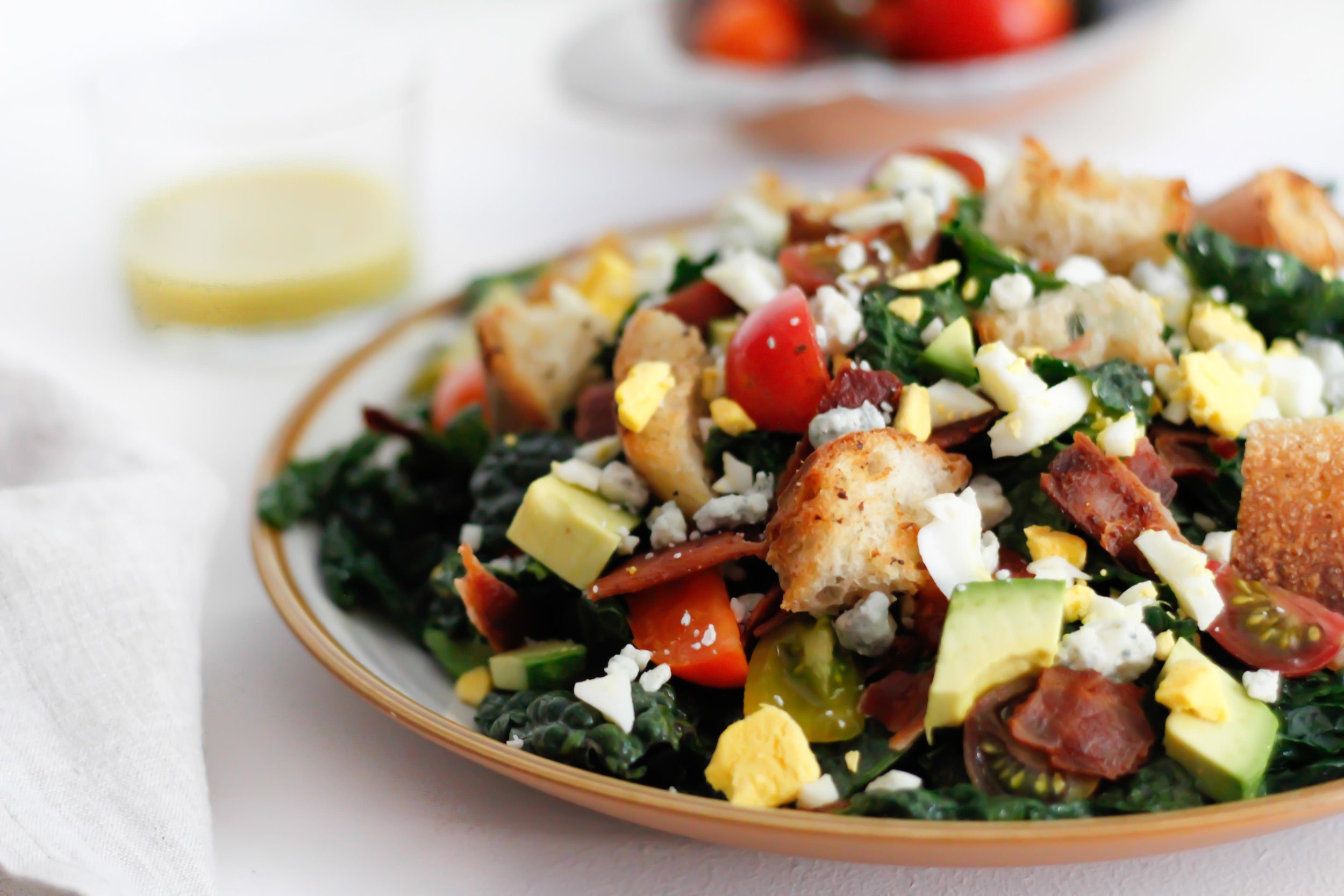 Kale cobb salad