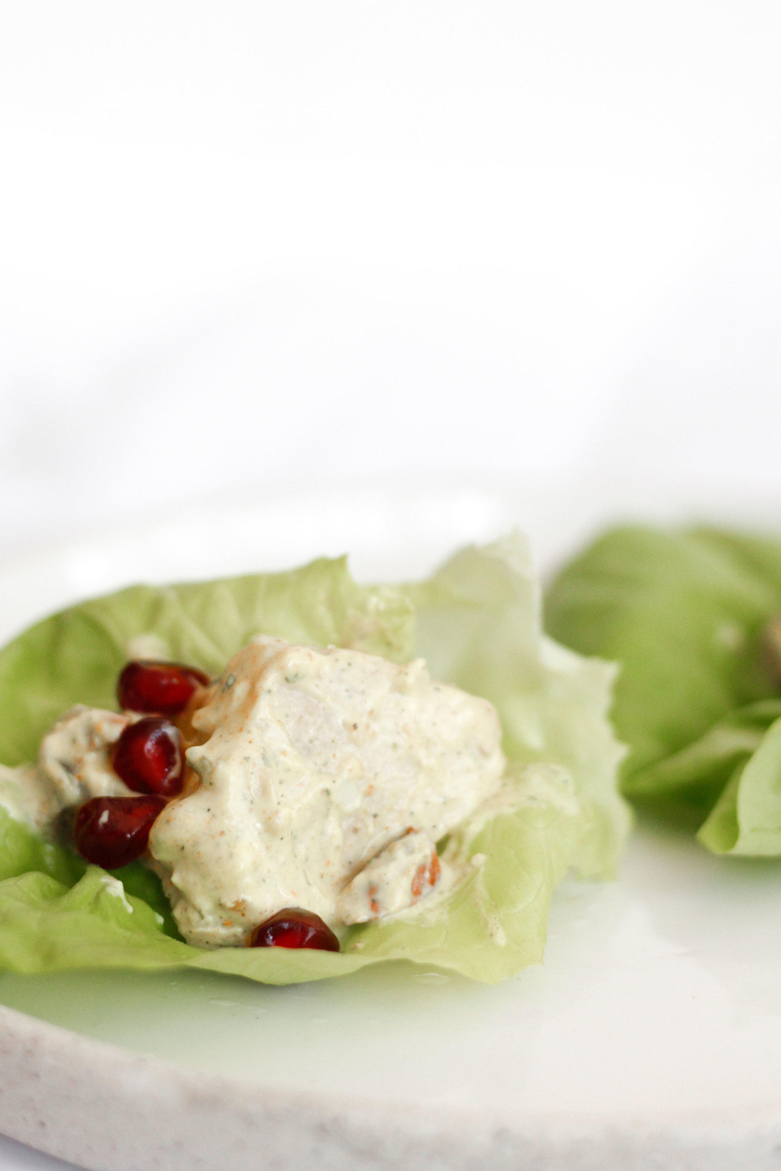 Almond roasted chicken salad