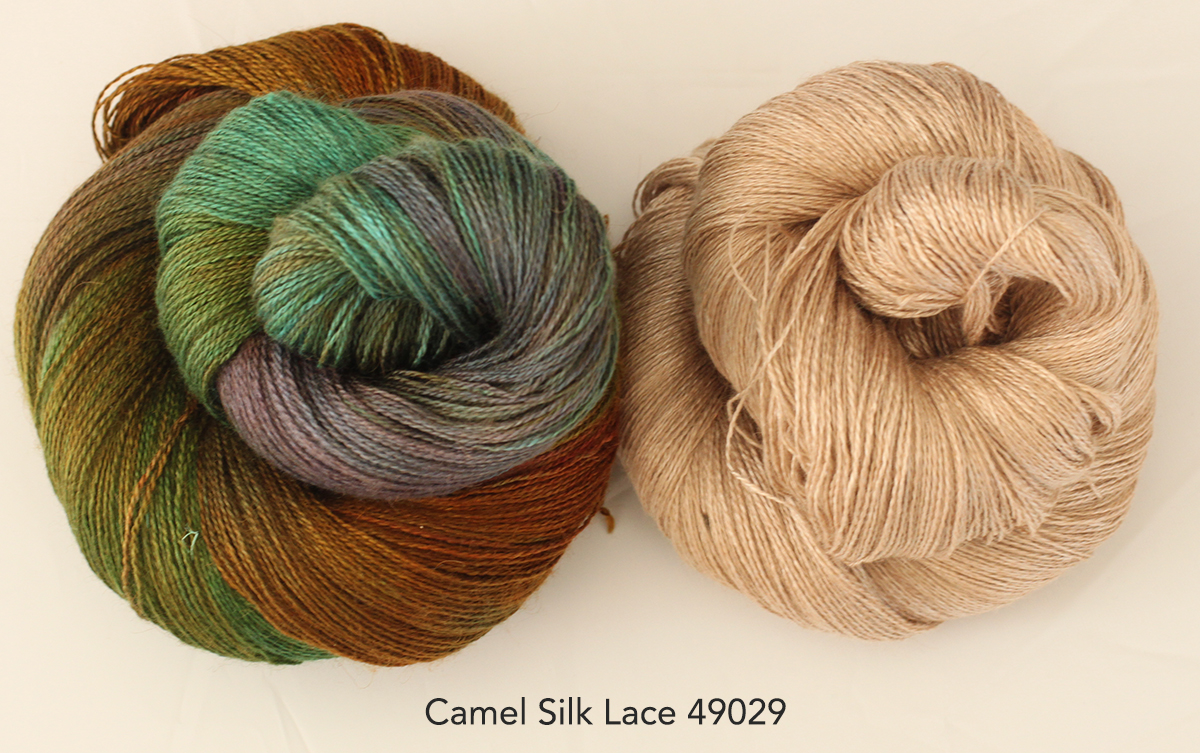 Camel Silk Lace 49029