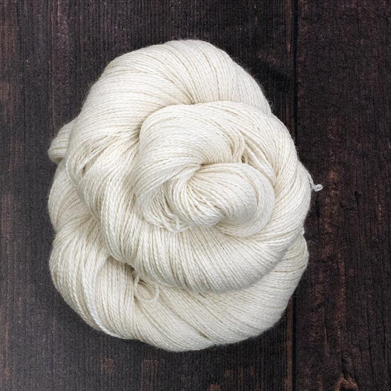 Type 49032  Angel Lace 600  70% Baby Alpaca 20% Silk 10% Cashmere  100g Hanks 600m per 100g 2/12nm