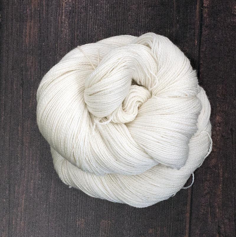 Type 49047  Pima Cotton Lace  100% Pima Cotton  100g Hanks 800m per 100g 2/16nm