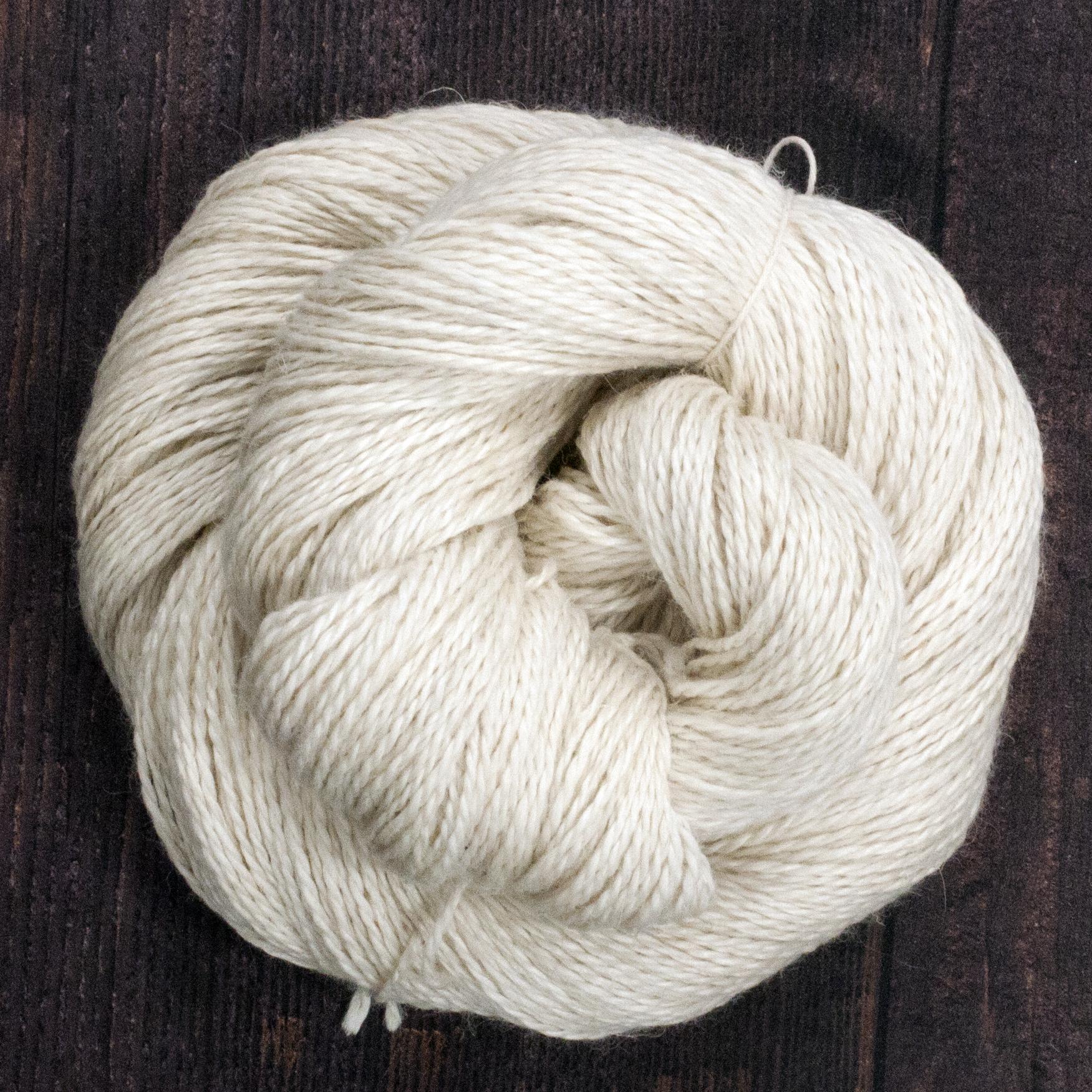 Type 49221   Egyptian DK 50% Baby Alpaca  25% Linen  25% Silk  100g Hanks  250m per 100g 2/5nm