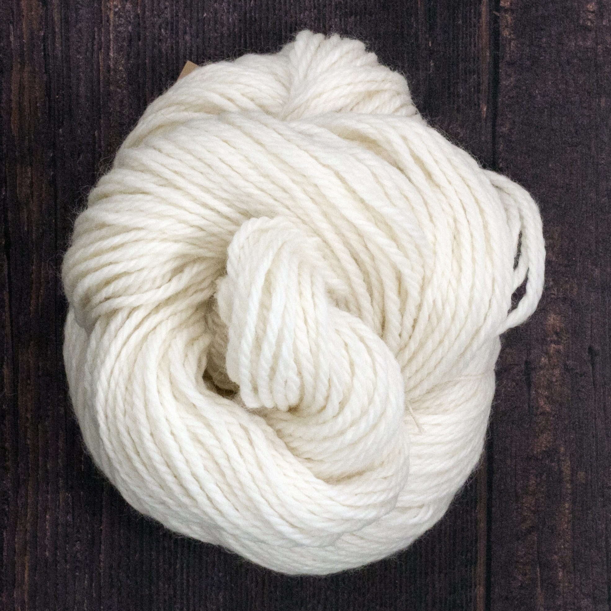 Type 49308   Organic Aran   100% Organic South American Merino Wool    100g Hanks  166m per 100g  3/5nm