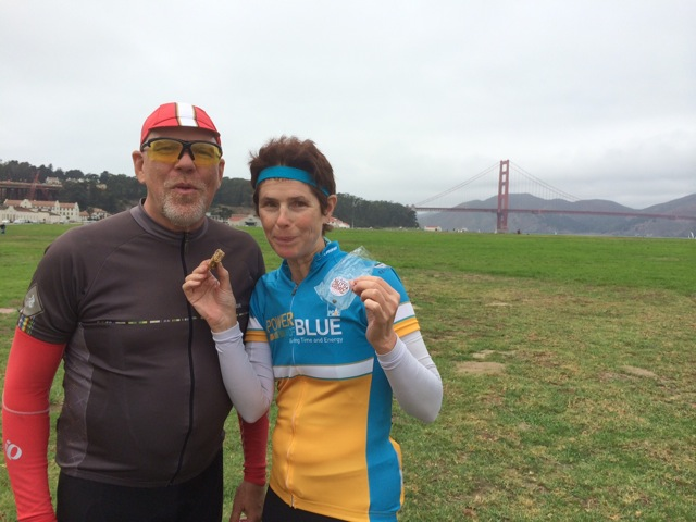 David and Jan at the Golden Gate Bridge, San Francisco, CA
