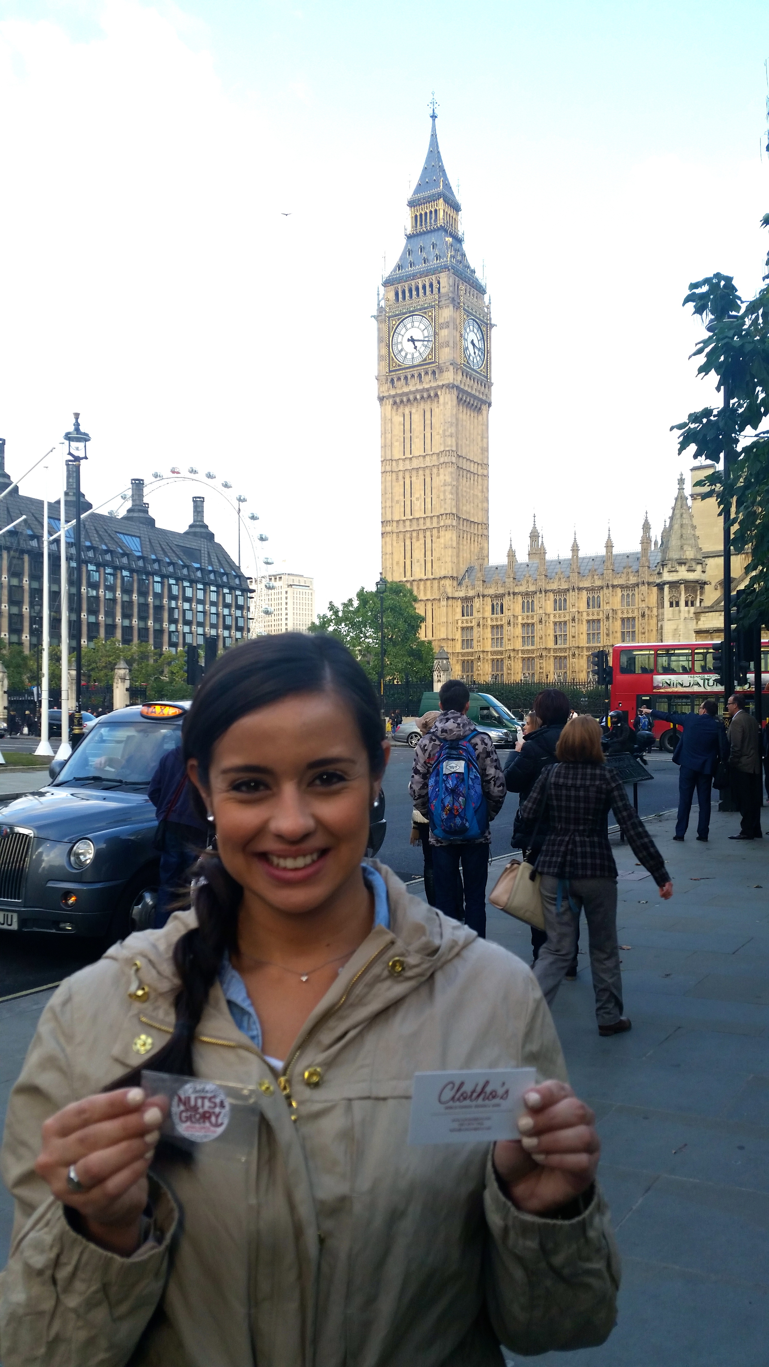 Jennifer from Houston, Texas sent this photo from London!!