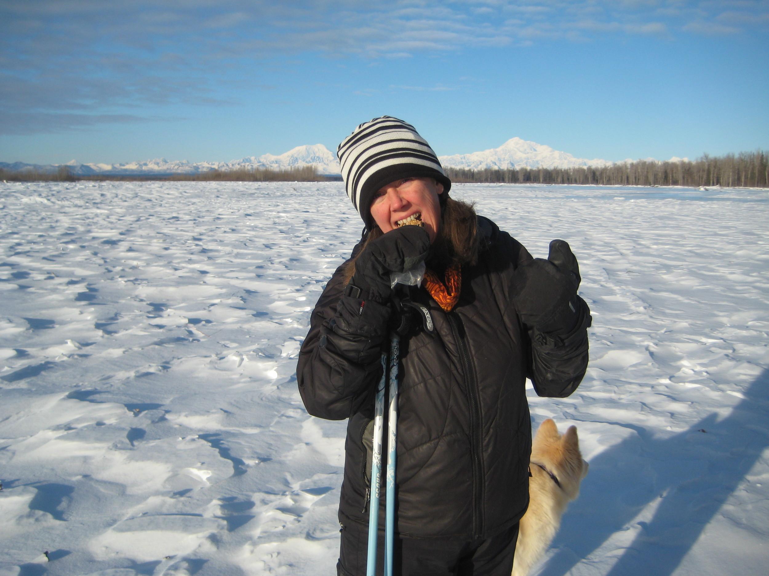 """Delish! Well done! I'm hooked!""- Randi and her dog Kaiya from Talkeetna, Alaska."