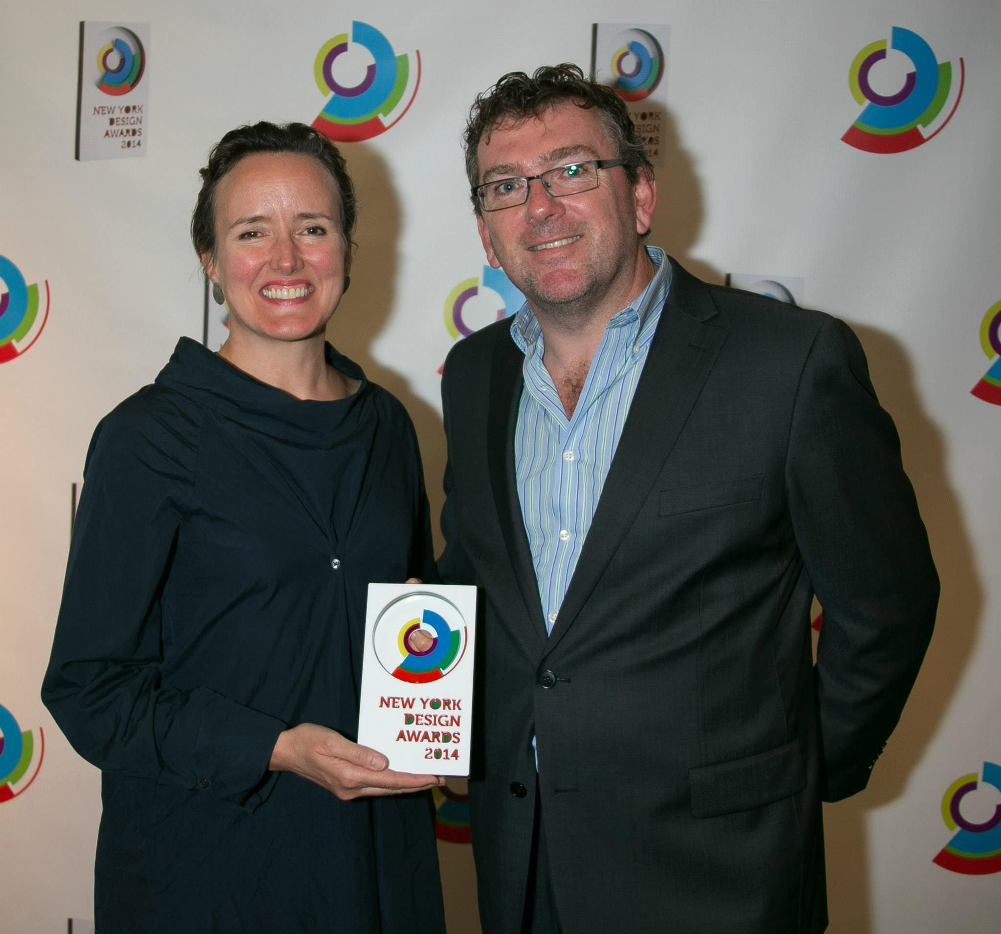 Victoria Milne receives New York Design Award, 2014