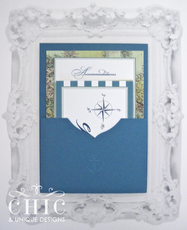 Nautical Wedding Invitation