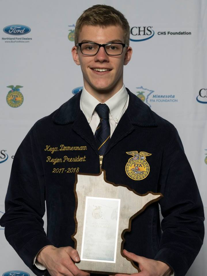 Agricultural Science Research Integrated Systems    Kegan Zimmermann    Red Rock Central    Sponsored by: MN Grain & Feed Association