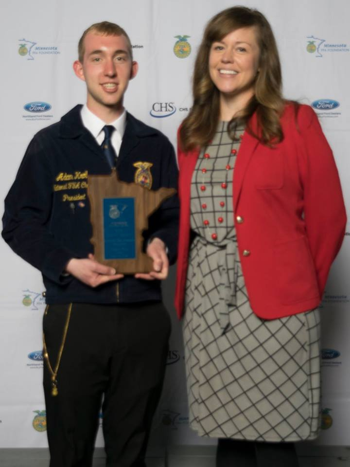 Diversified Crop Production Placement    Adam Kroll    Pierz    SponSponsored by: Land O'Lakessored by: Land O'Lakes