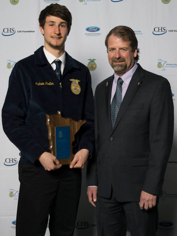 Poultry Production    Andrew Moeller    Fairmont    Sponsored by: Minnesota Turkey Council